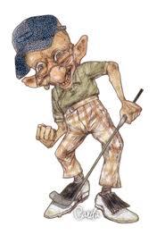 Old Golfer Image