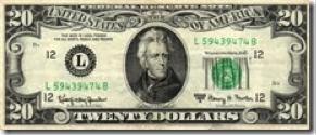 20 Dollare Bill