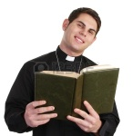 11235787-a-priest-with-a-bible