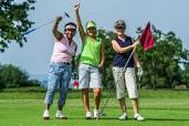 Three Woman Golfers