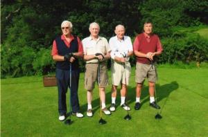 four-golfers